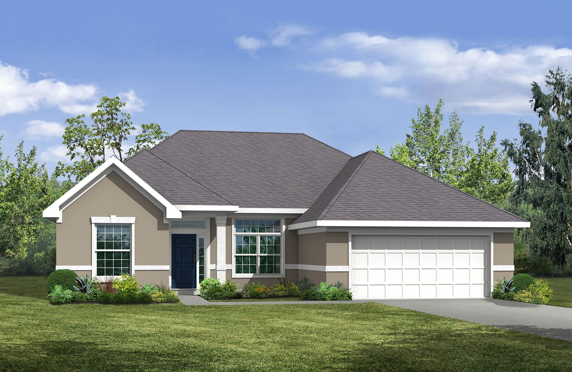 Kingsley - Eagle Landing: Orange Park, FL - Drees Homes