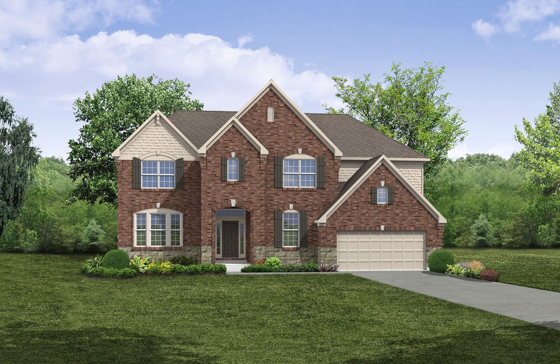 Britton - The Commons at Woodcreek Farms: Brownsburg, IN - Drees Homes
