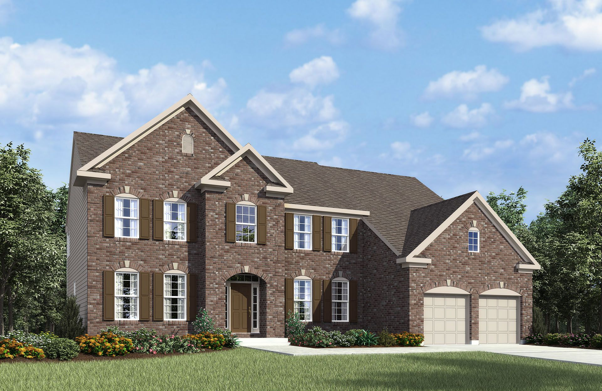 Langdon - The Commons at Woodcreek Farms: Brownsburg, IN - Drees Homes