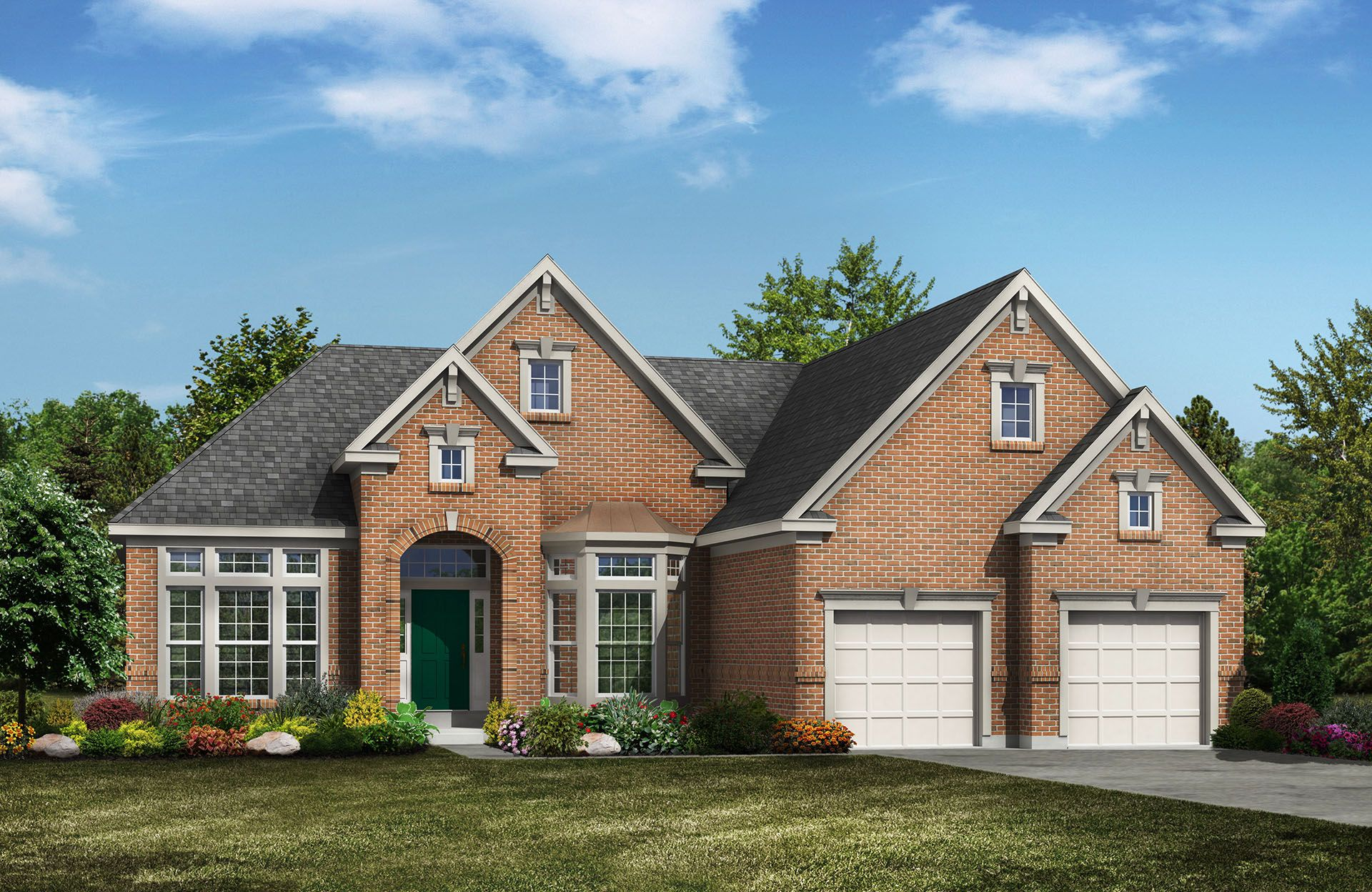 York - Belmont Place at Brooks Park: Fishers, IN - Drees Homes