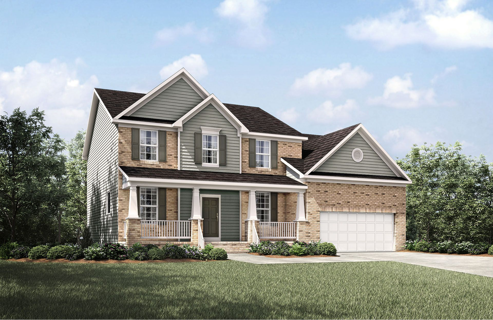 Bradley - Park at West Lake: Apex, NC - Drees Homes