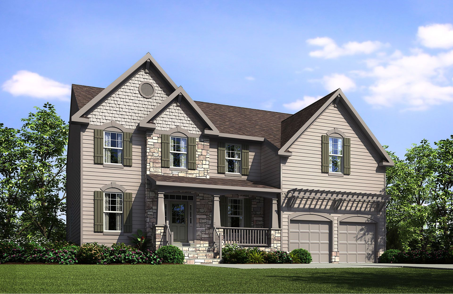 Sinclair IV - The Village at Rolesville: Rolesville, NC - Drees Homes