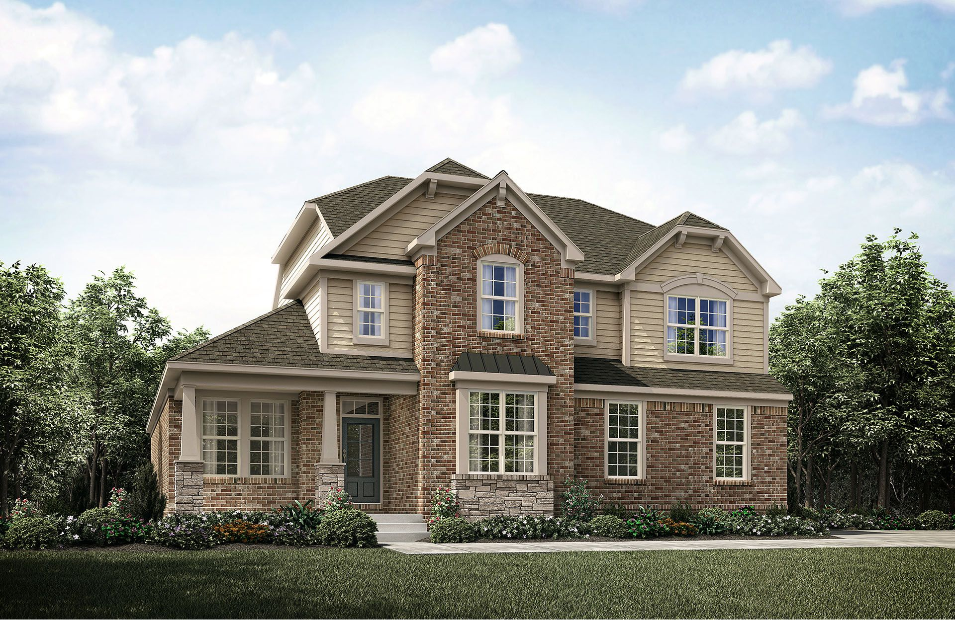 Marion II - Cobblestone Landing: Mount Juliet, TN - Drees Homes