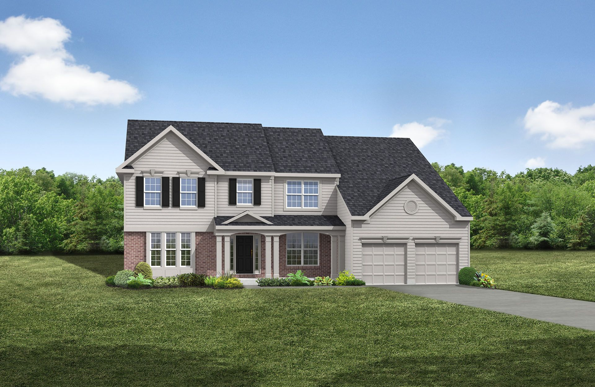Ashville - Spring Hill Highlands: Uniontown, OH - Drees Homes
