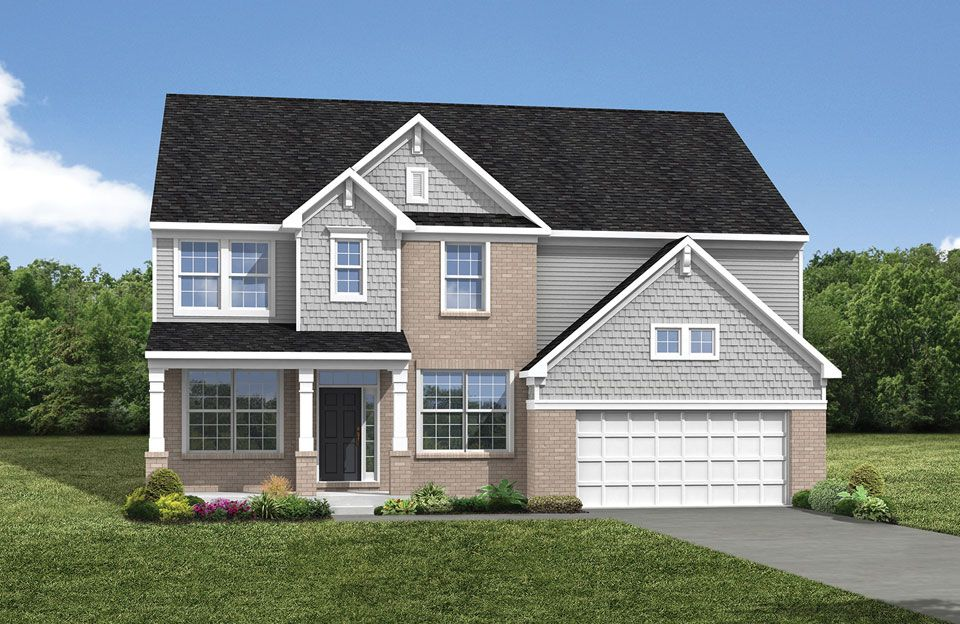 Buchanan - Oak Hollow Community: Brunswick, OH - Drees Homes