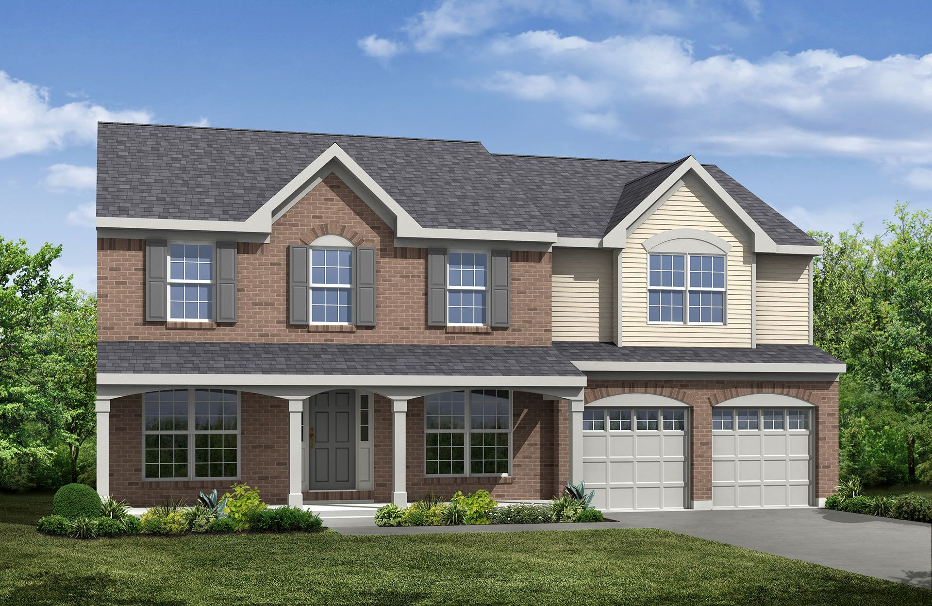 Chadwick - Woods of Stradford: North Ridgeville, OH - Drees Homes