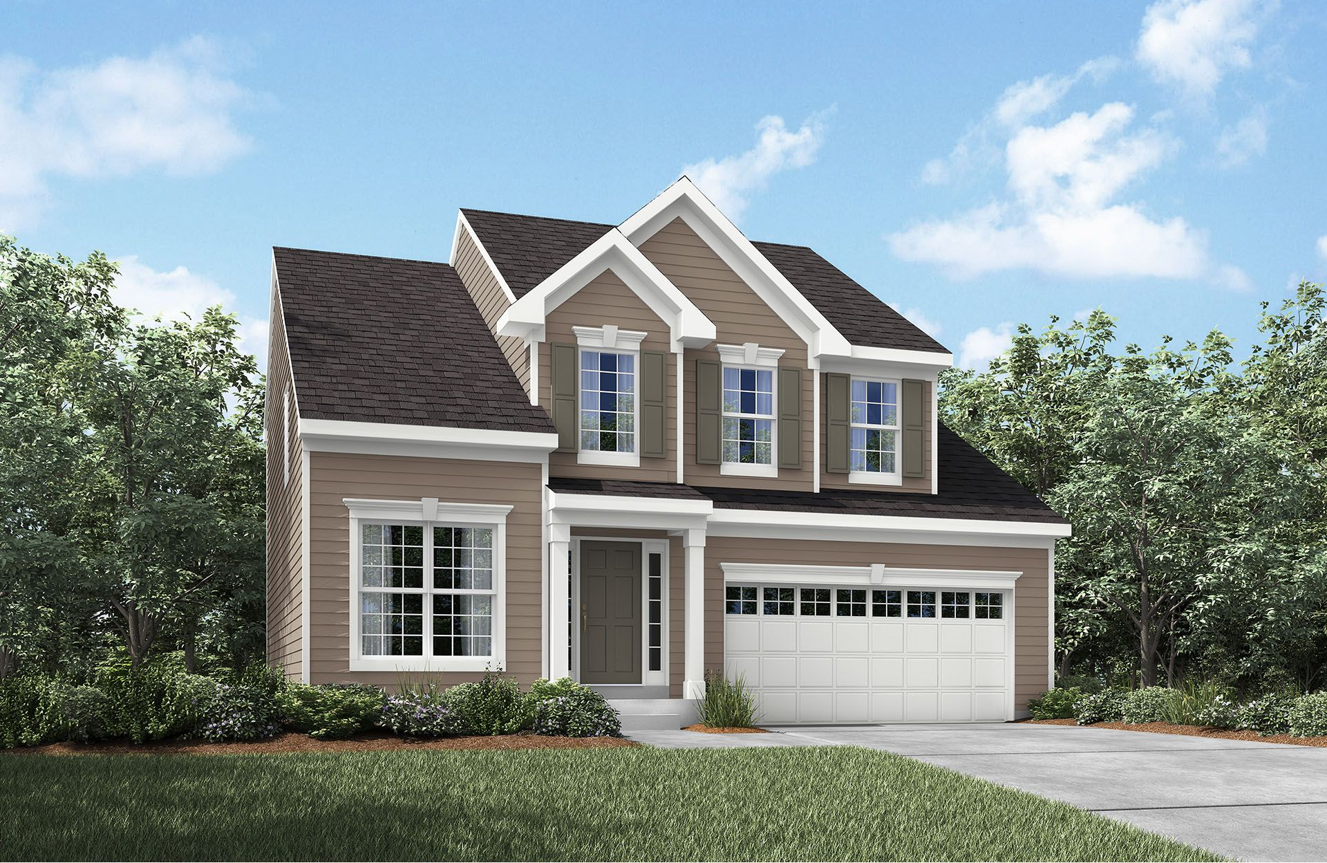 Crosby - Oak Hollow Community: Brunswick, OH - Drees Homes