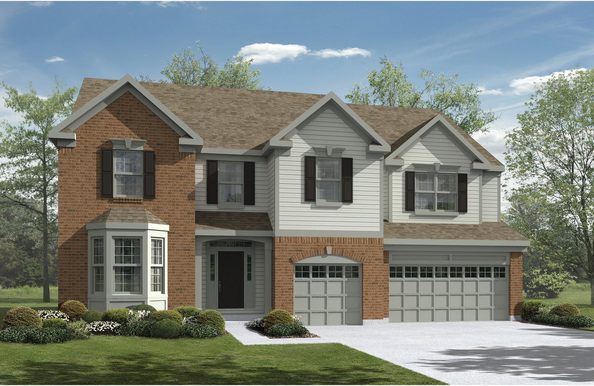 Jacoby - Spring Hill Highlands: Uniontown, OH - Drees Homes