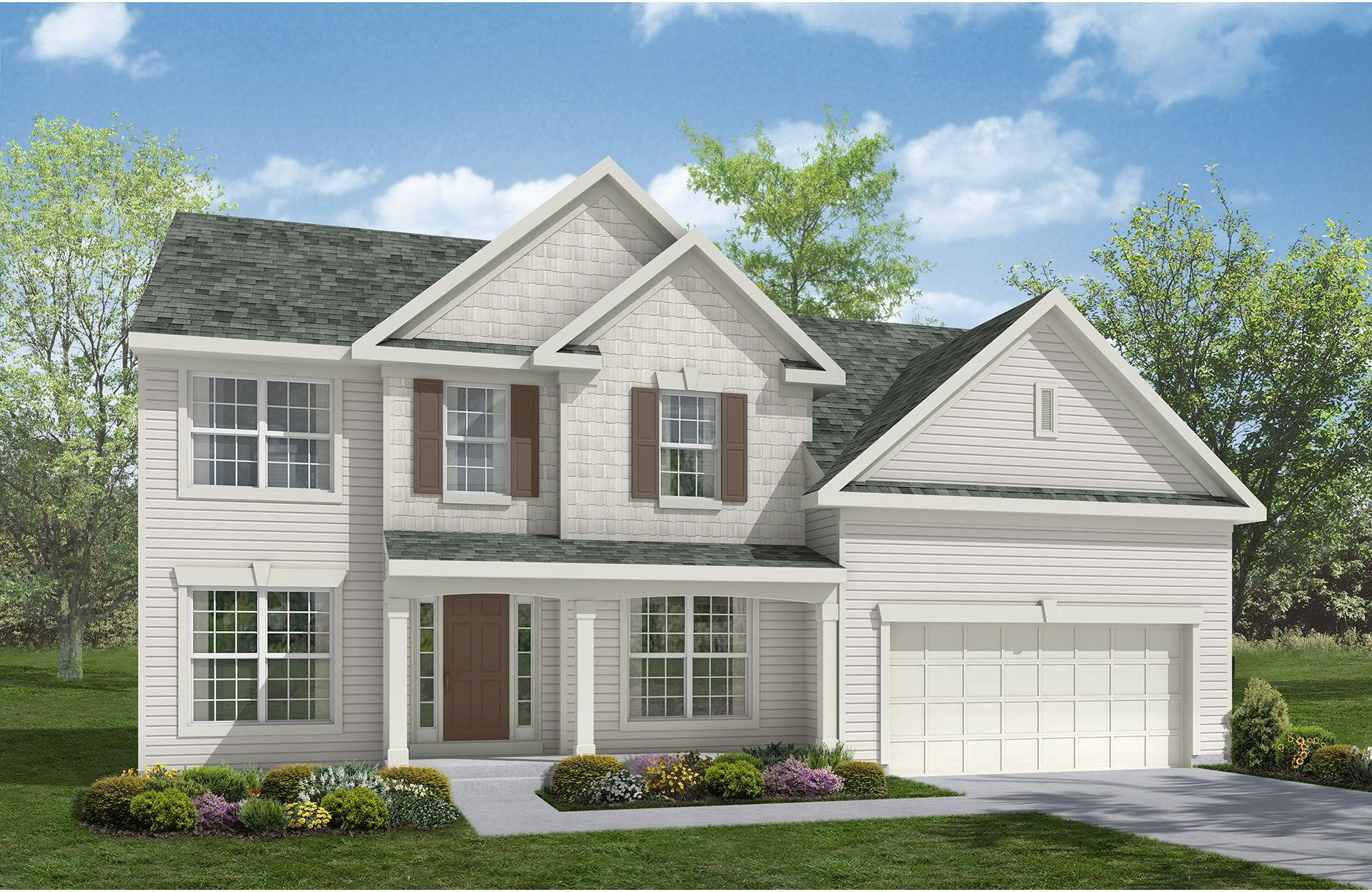 Patterson - Spring Hill: Uniontown, OH - Drees Homes