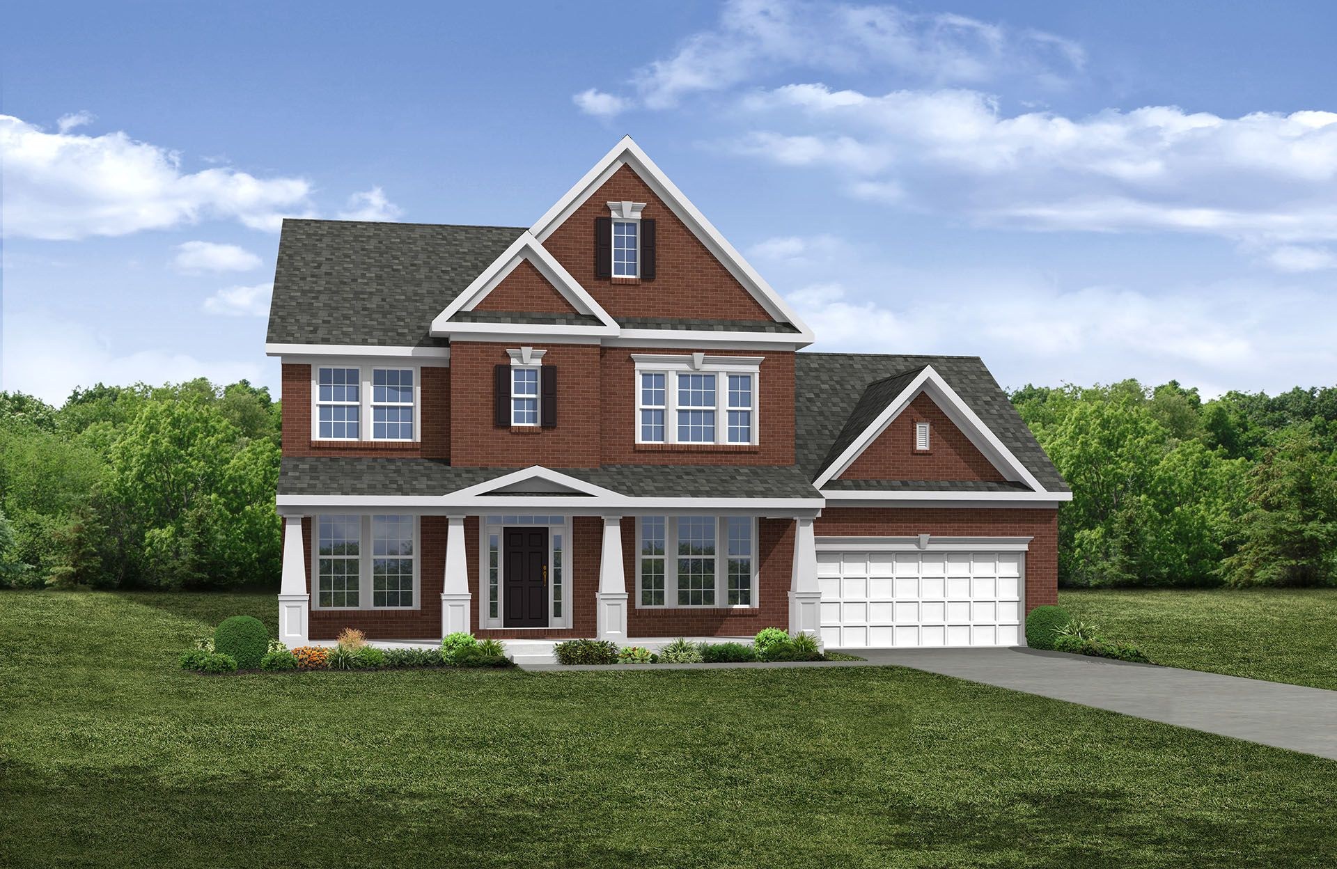 Pembroke - Woods of Stradford: North Ridgeville, OH - Drees Homes