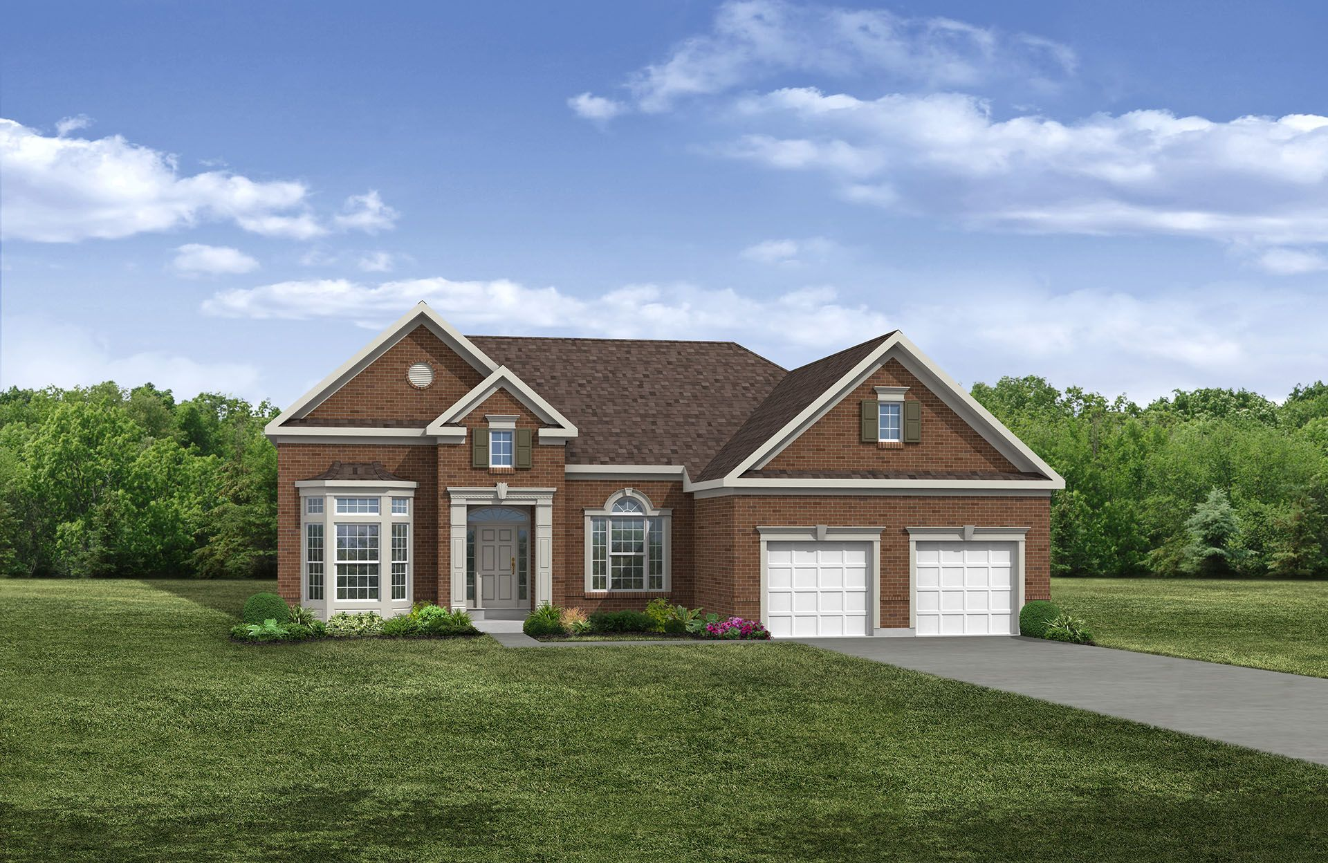 York - Oak Hollow Community: Brunswick, OH - Drees Homes