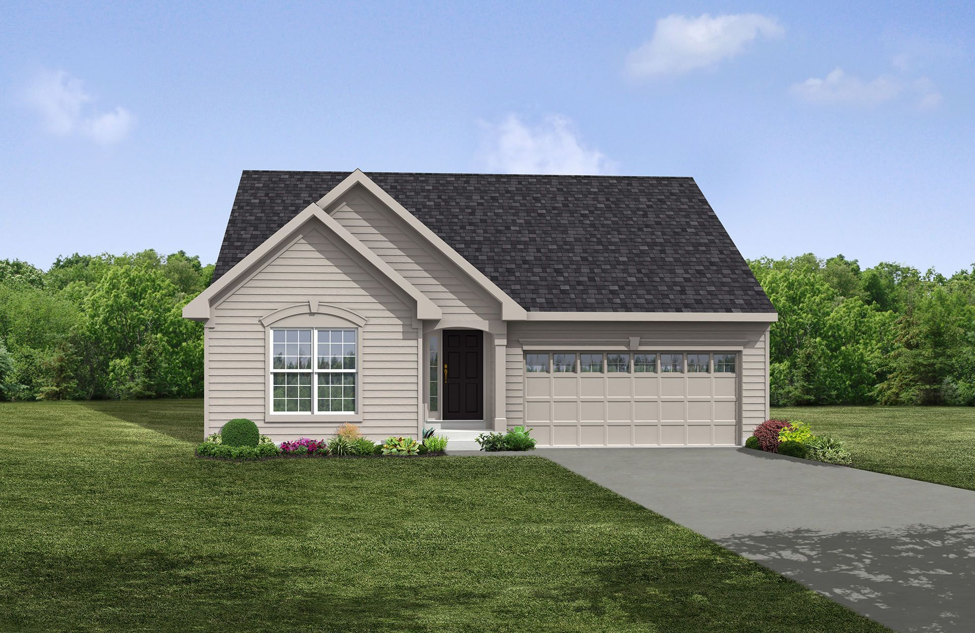 Alistair - Columbia Reserve: Columbia Station, OH - Drees Homes
