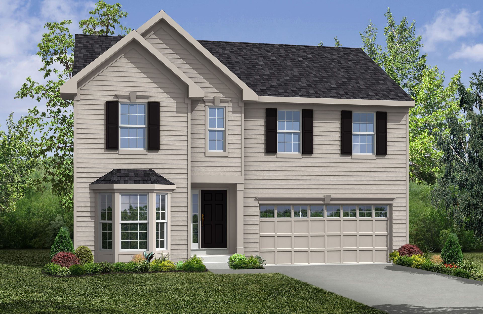 Chester - Spring Hill: Uniontown, OH - Drees Homes