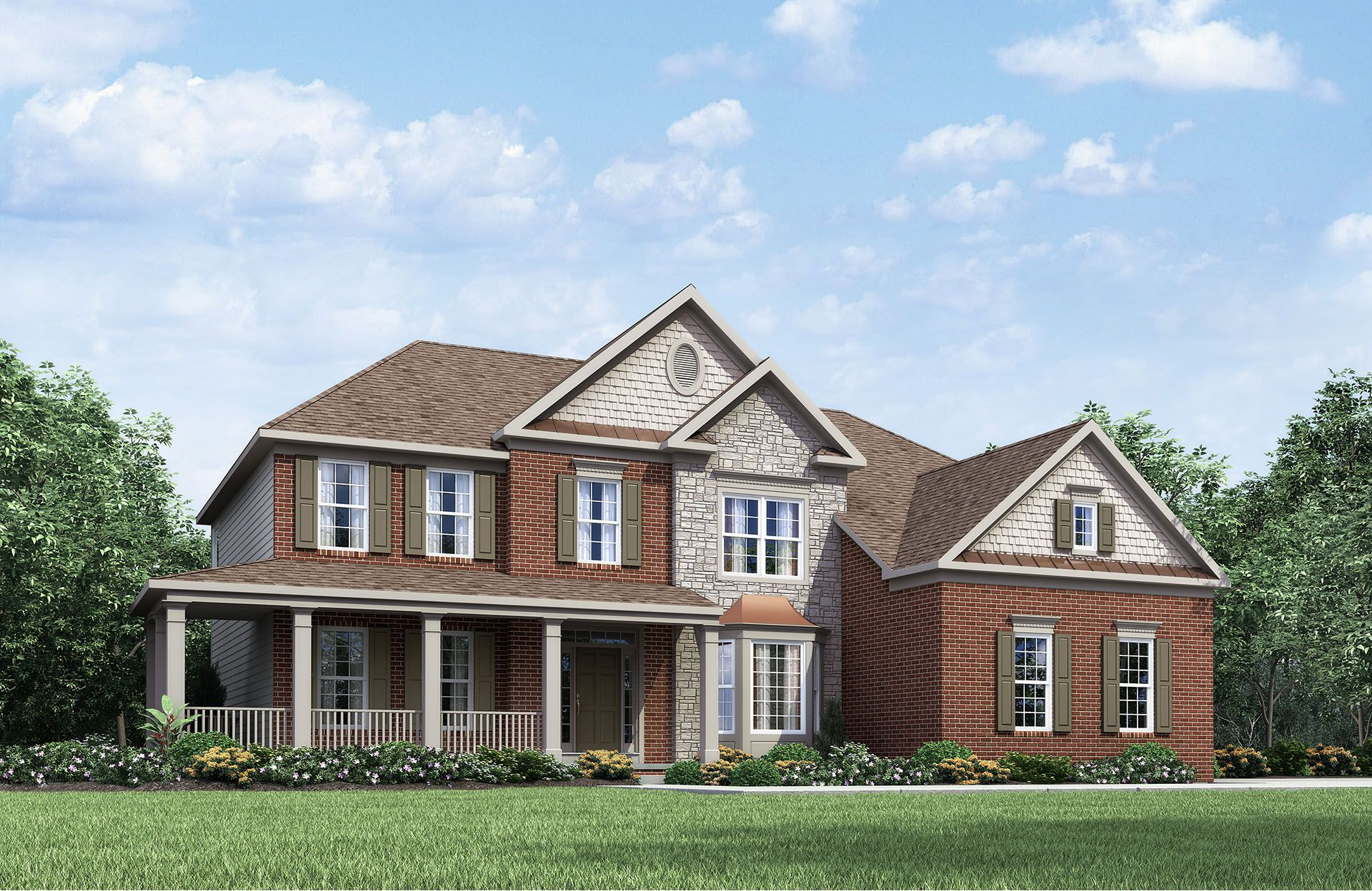 Ashville IV - The Village at Rolesville: Rolesville, NC - Drees Homes