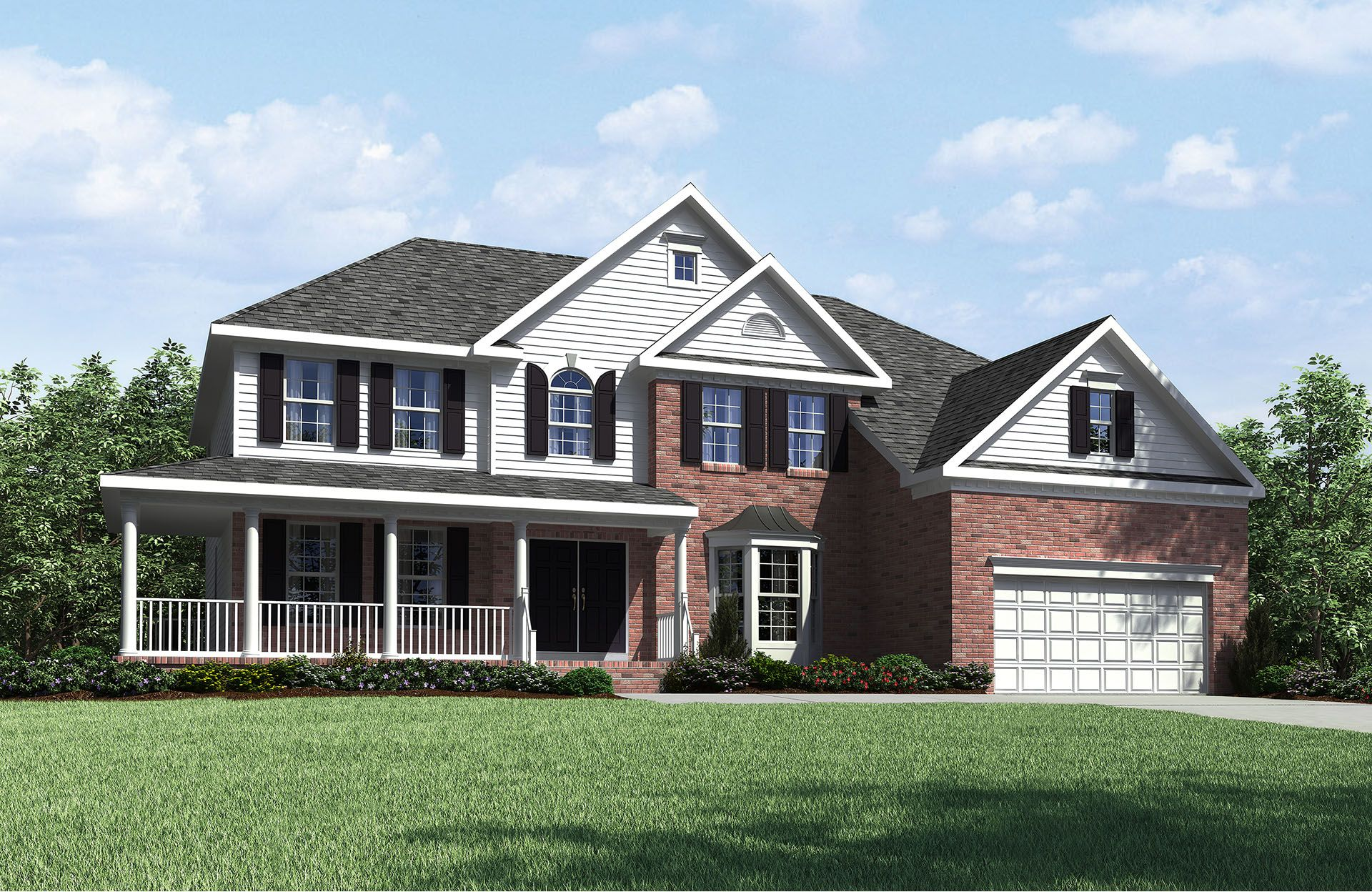 Langdon - Park at West Lake: Apex, NC - Drees Homes