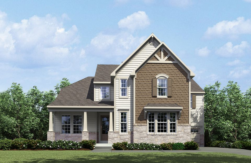 Mason - Belmont Place at Brooks Park: Fishers, IN - Drees Homes