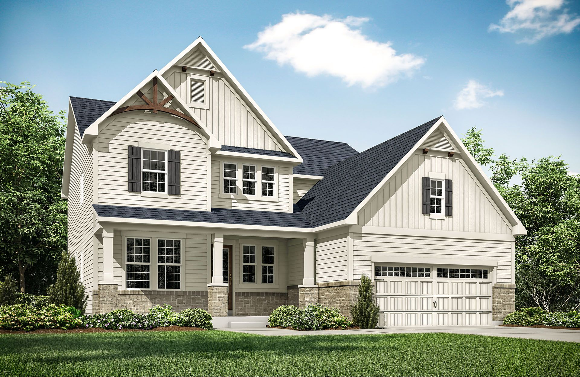 Sasha - Belmont Place at Brooks Park: Fishers, IN - Drees Homes
