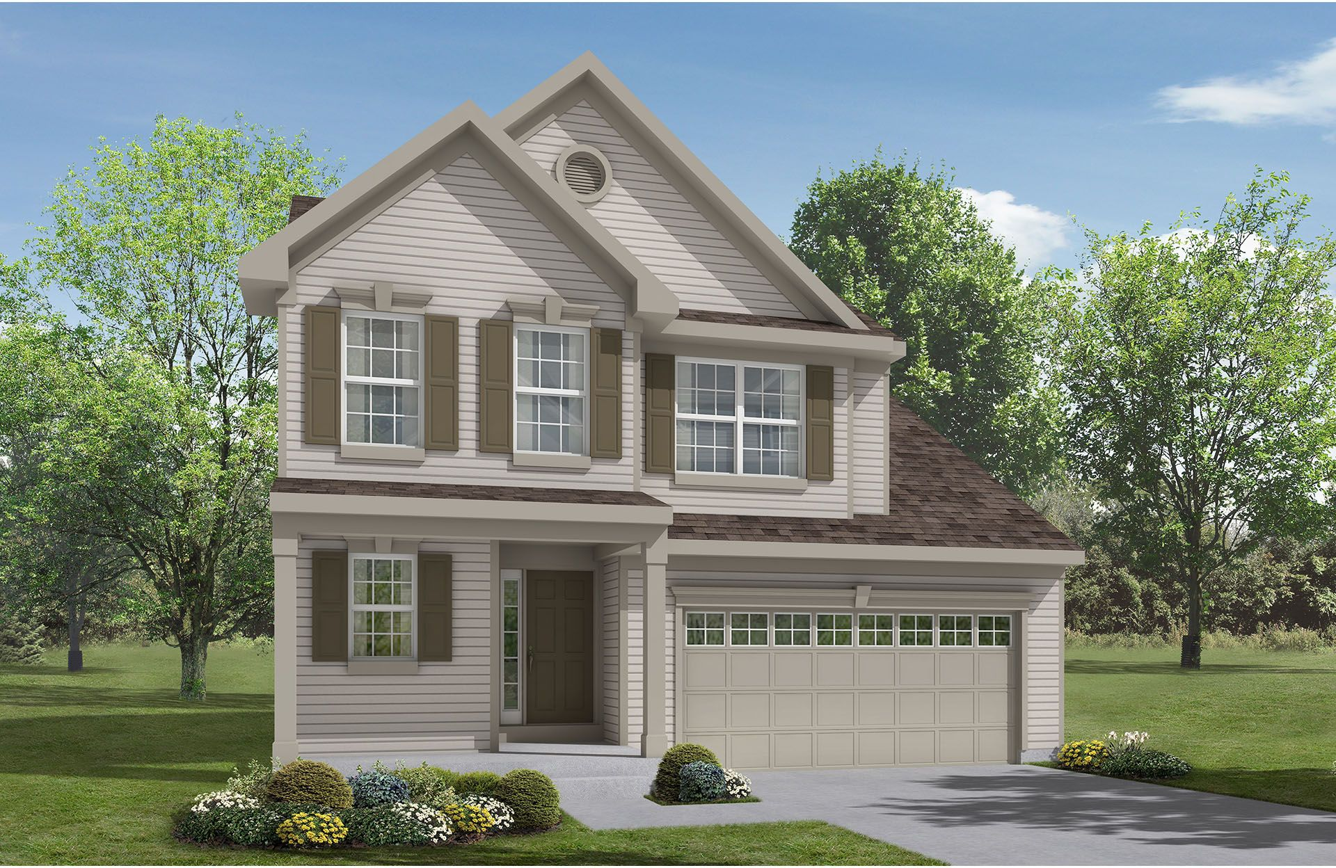 Brighton - Bexley Place: Strongsville, OH - Drees Homes