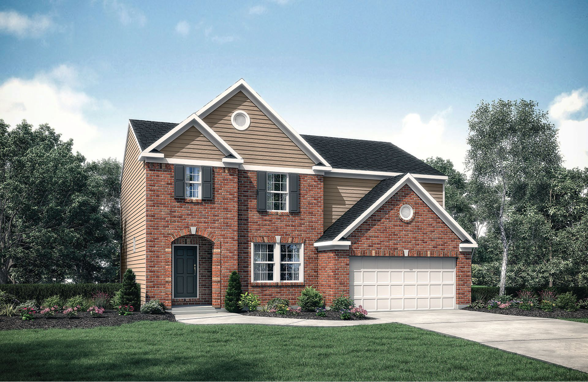 Ashton - Glendower Place: Harrison, OH - Drees Homes