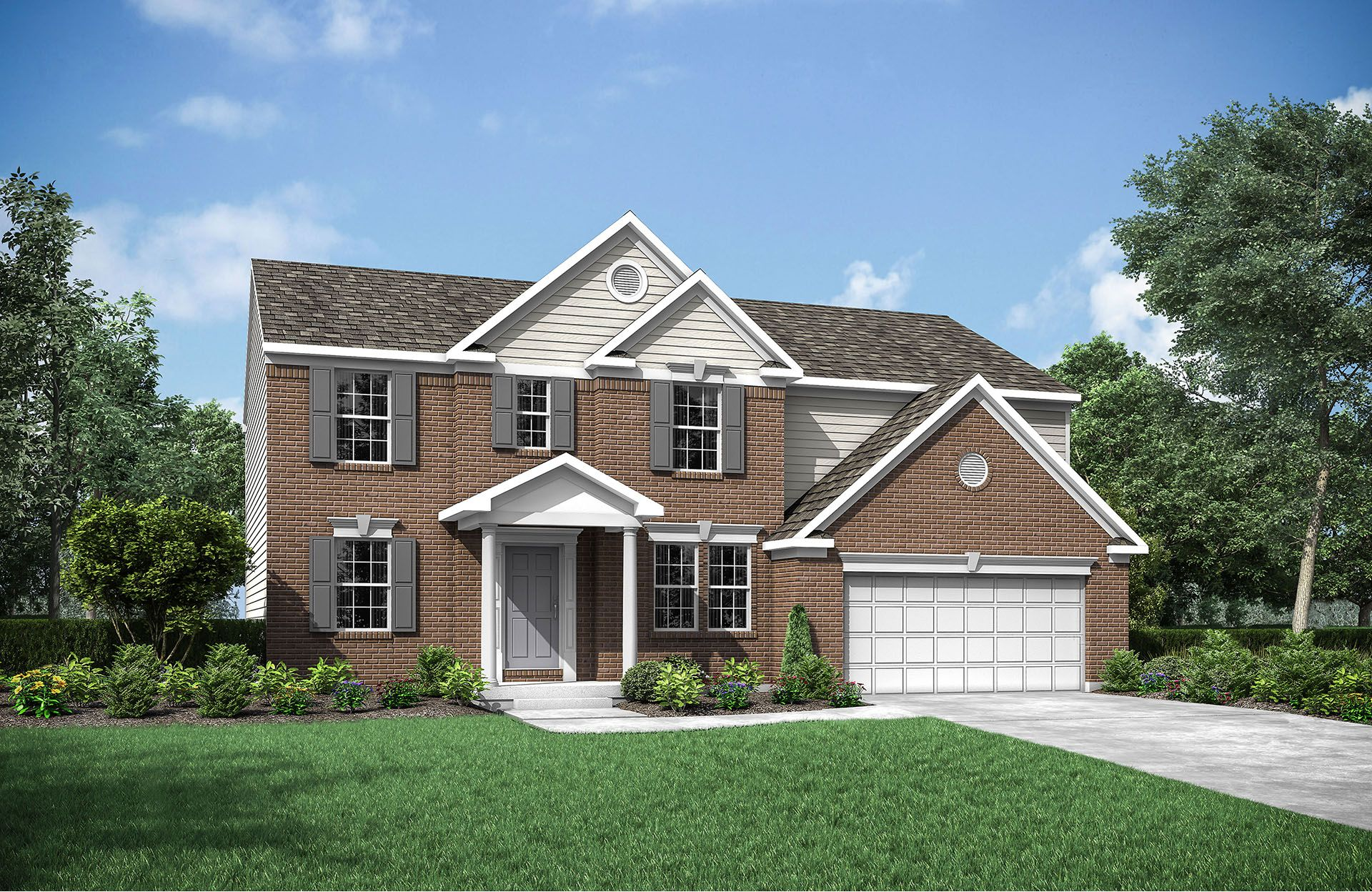 Quentin - Yorkshire Reserve: Miamisburg, OH - Drees Homes