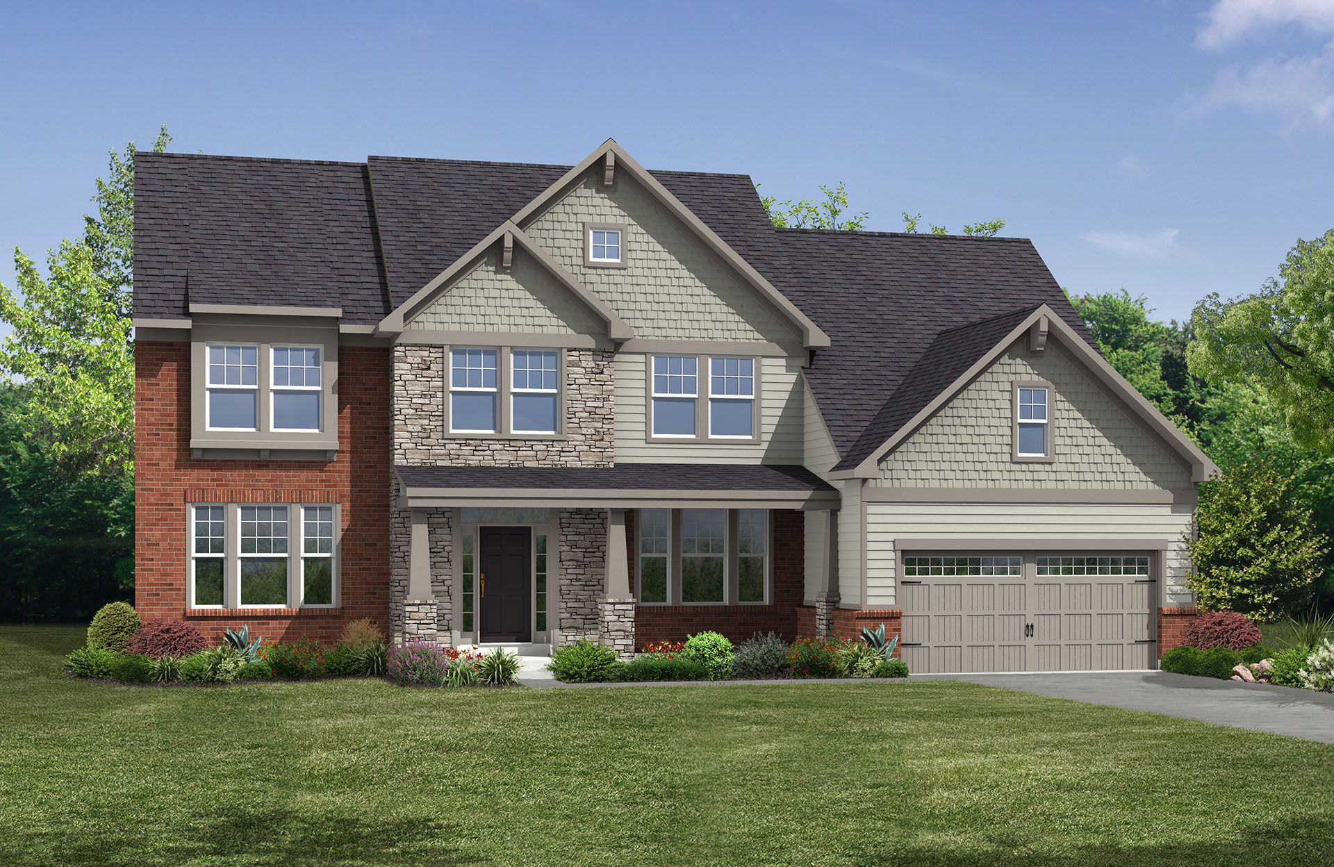 Langdon - Yorkshire Estates: Aurora, OH - Drees Homes