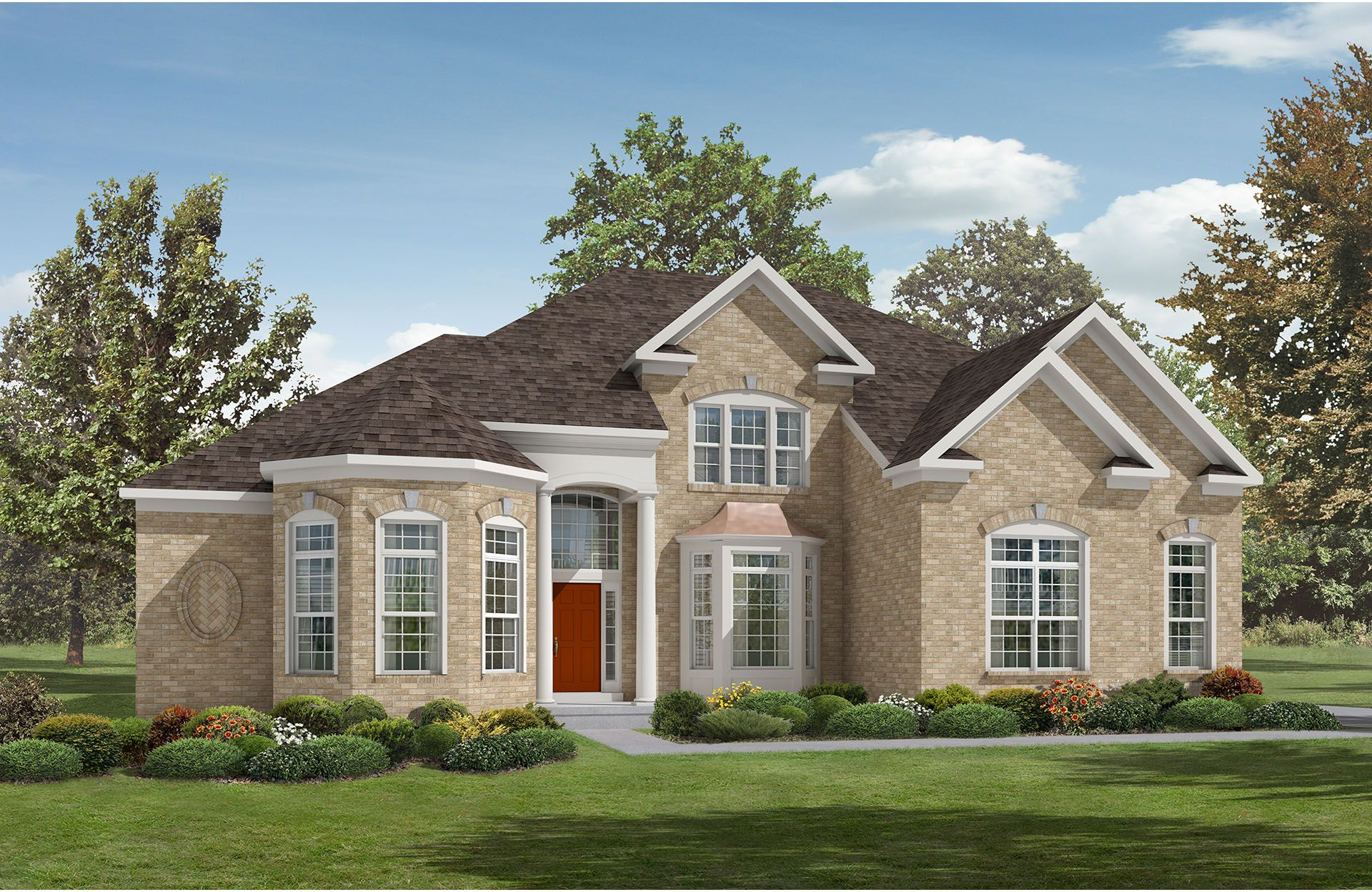 Wainwright - Design Gallery Homes: Indianapolis, IN - Drees Homes