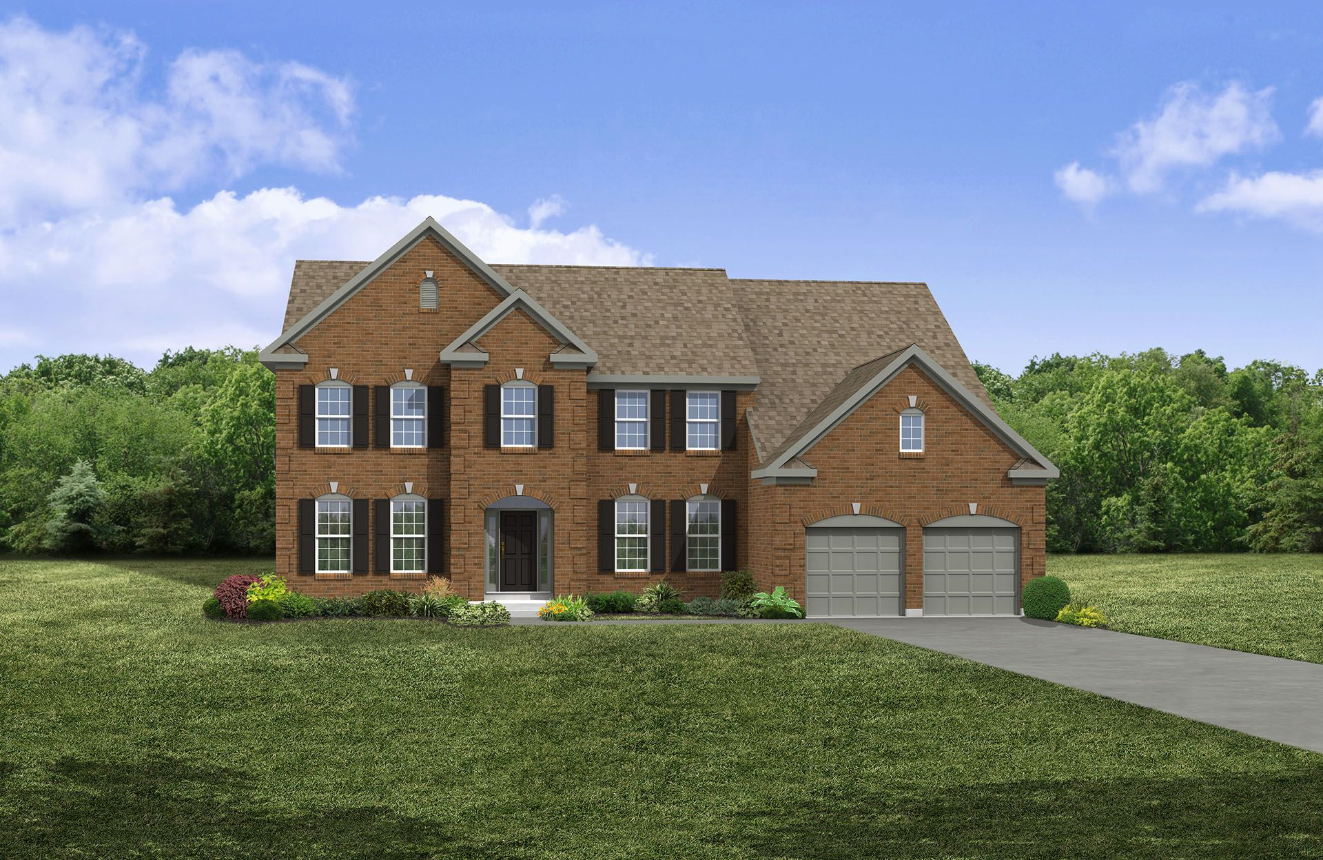 Langdon - West  Hampton: North Royalton, OH - Drees Homes