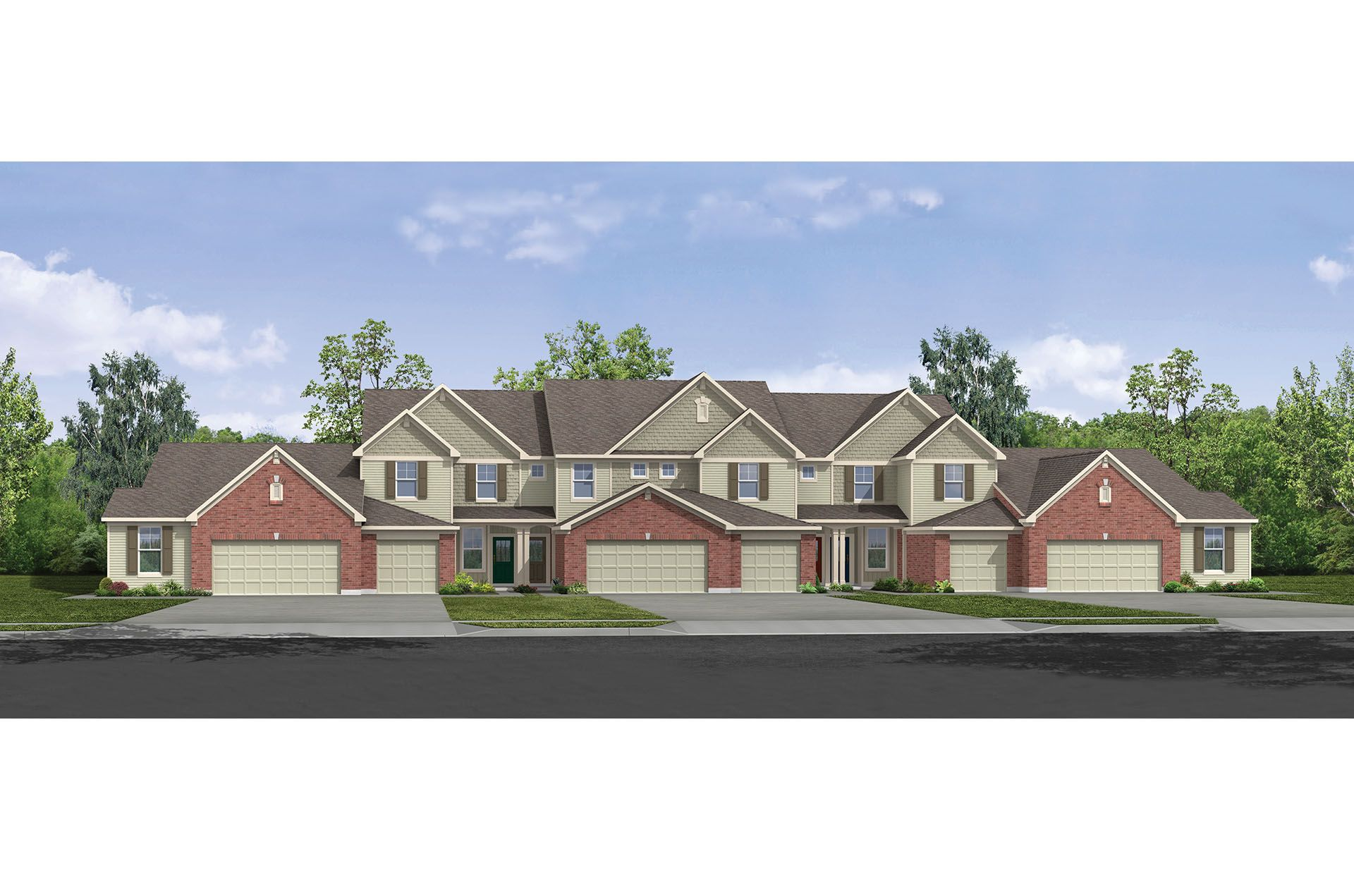 Halifax II - Harmony Condos & Townes: Union, KY - Drees Homes