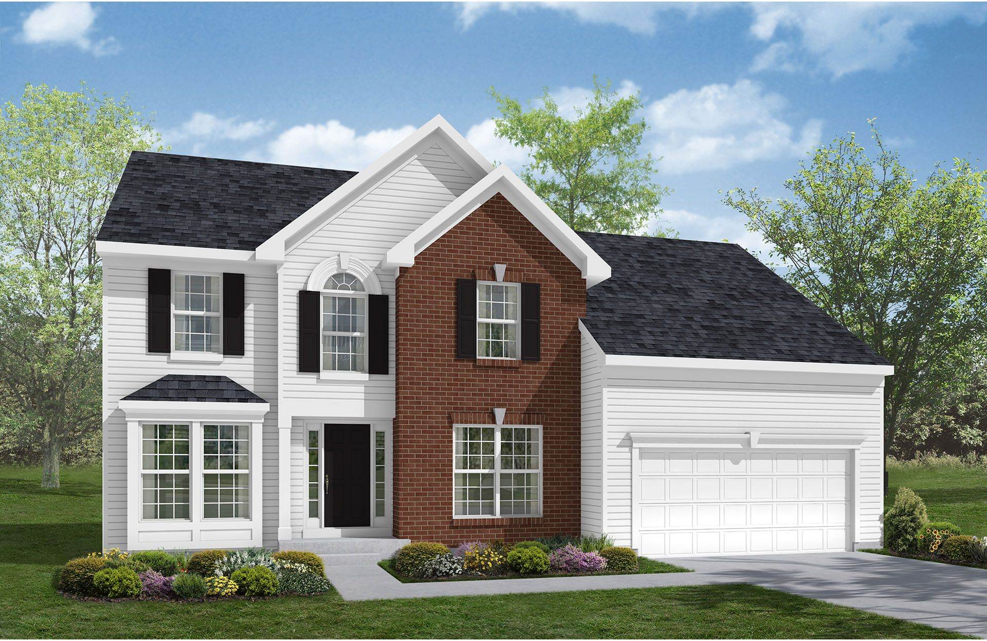 Patterson - Lakes at Franklin Mills: Stow, OH - Drees Homes
