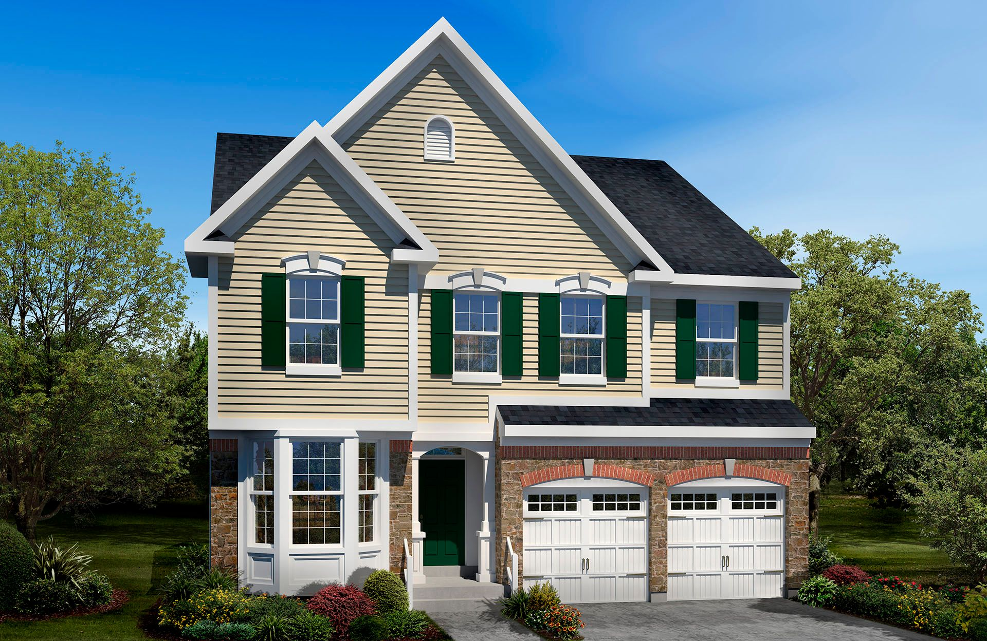 Manchester II - The Preserve at Smith Run: Fredericksburg, VA - Drees Homes