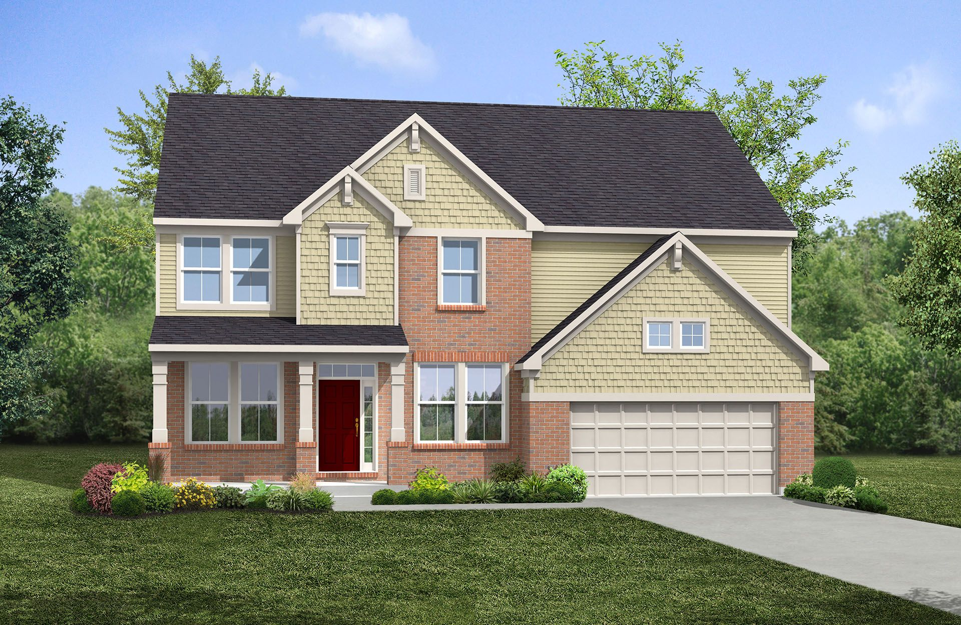 Buchanan - The Preserve at Smith Run: Fredericksburg, VA - Drees Homes