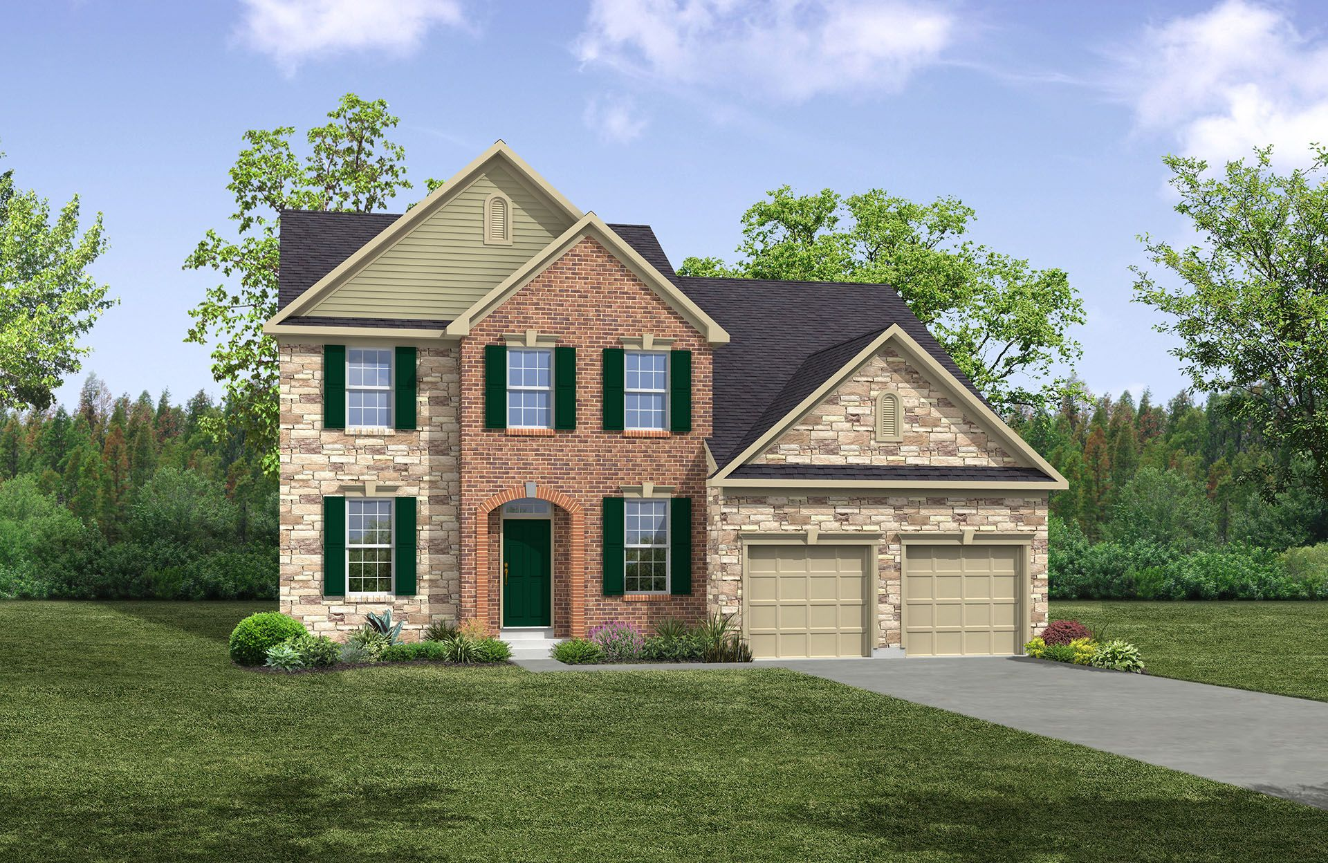 McClaren - The Preserve at Smith Run: Fredericksburg, VA - Drees Homes
