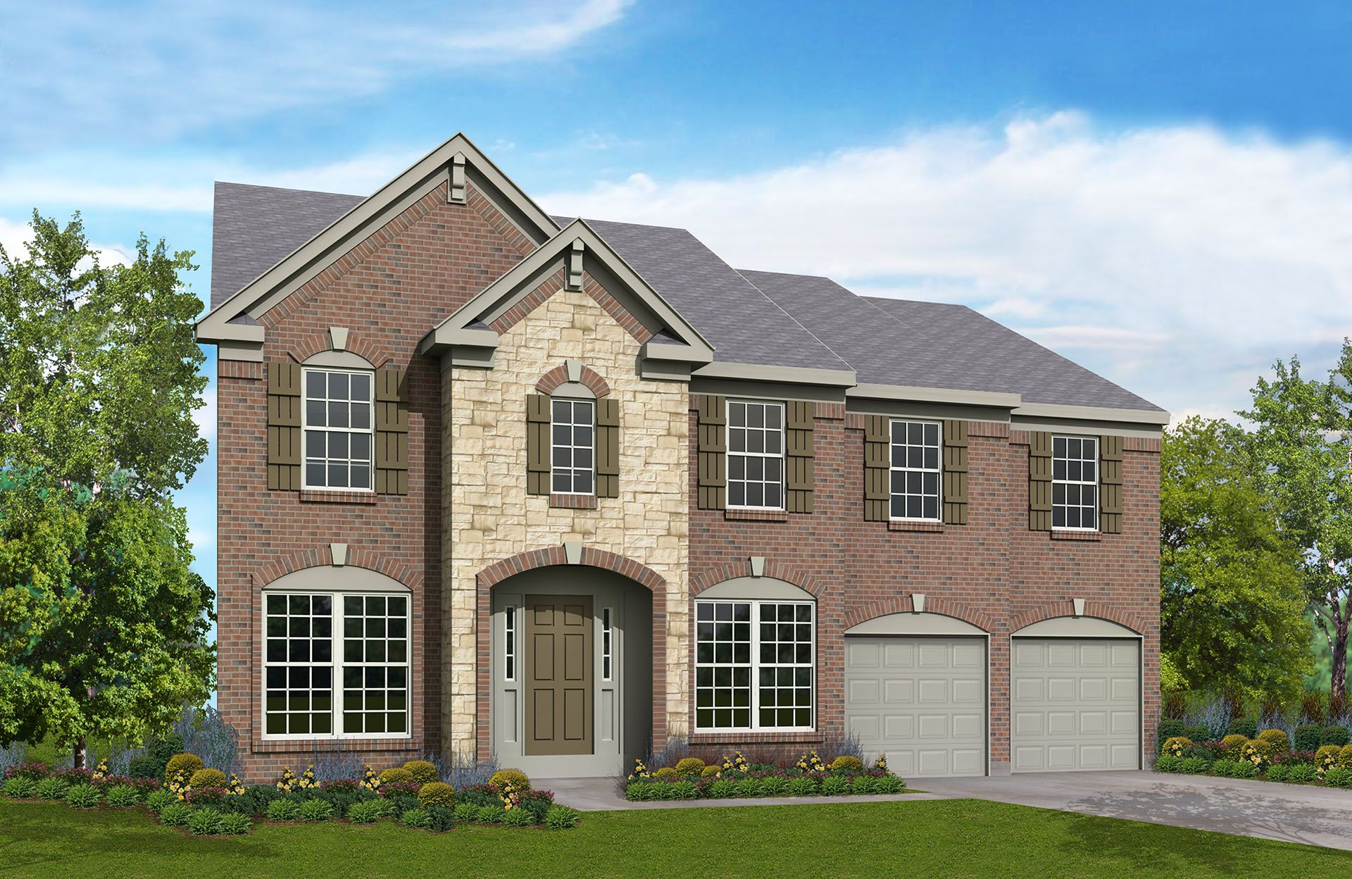 Davidson - Red Stone Village: Union, KY - Drees Homes