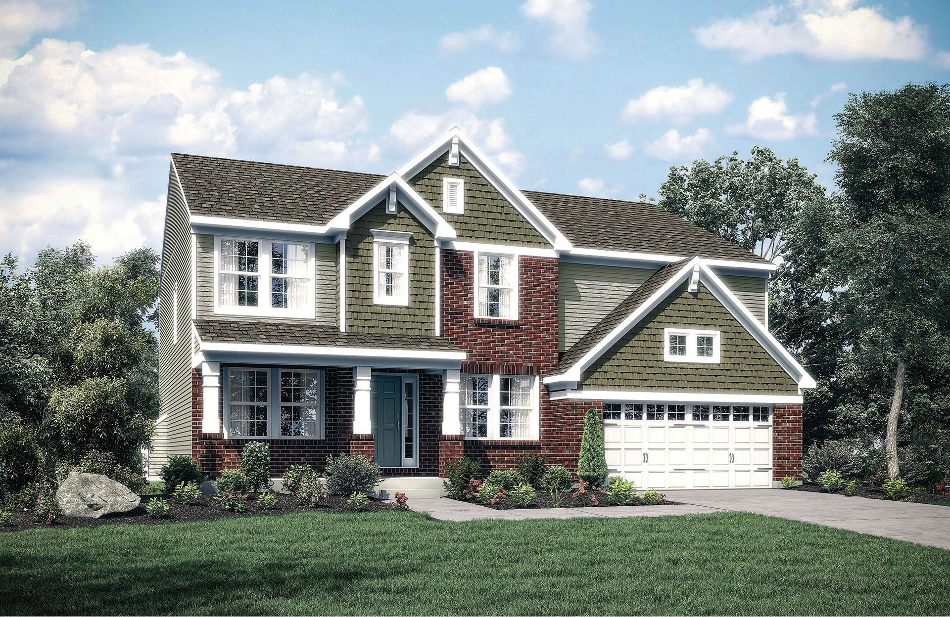 Buchanan - Red Stone Village: Union, KY - Drees Homes