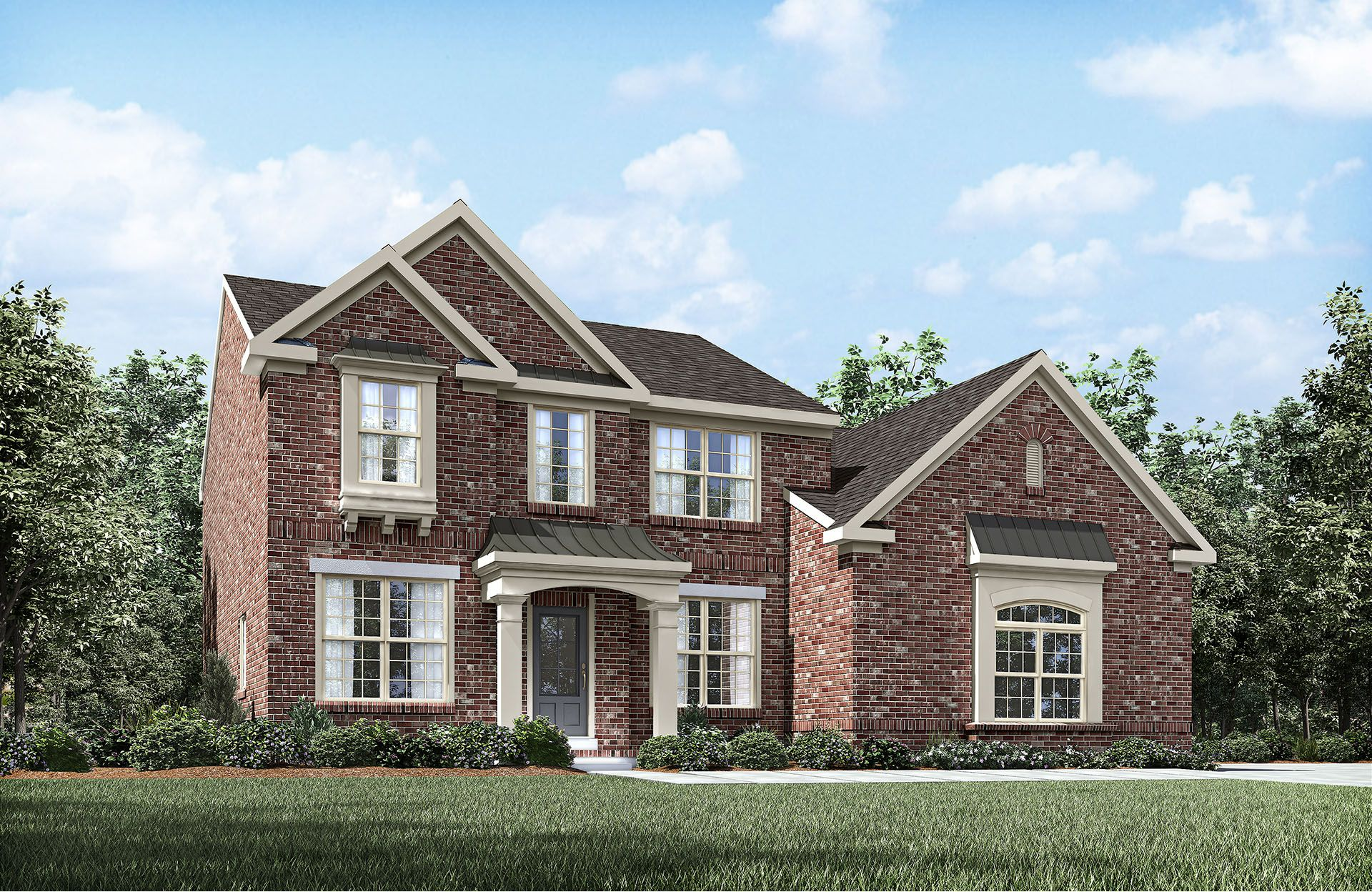 Bradford - The Villages of Berkshire: Murfreesboro, TN - Drees Homes