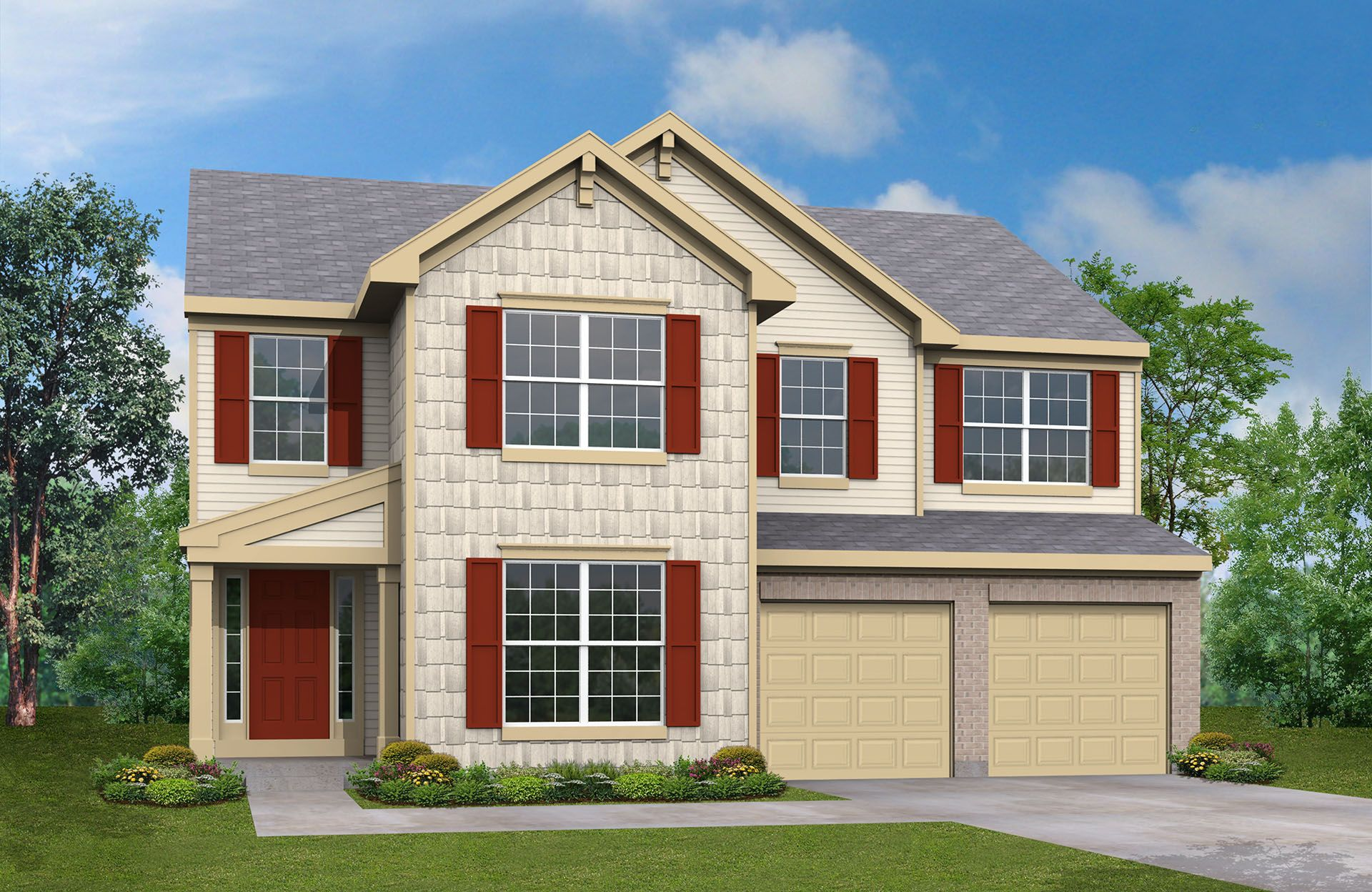 Fulton - Settlers Pointe: Hebron, KY - Drees Homes