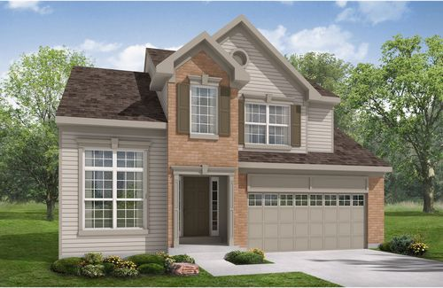 Baker's Creek at Echo Lake by Drees Homes in Cleveland Ohio