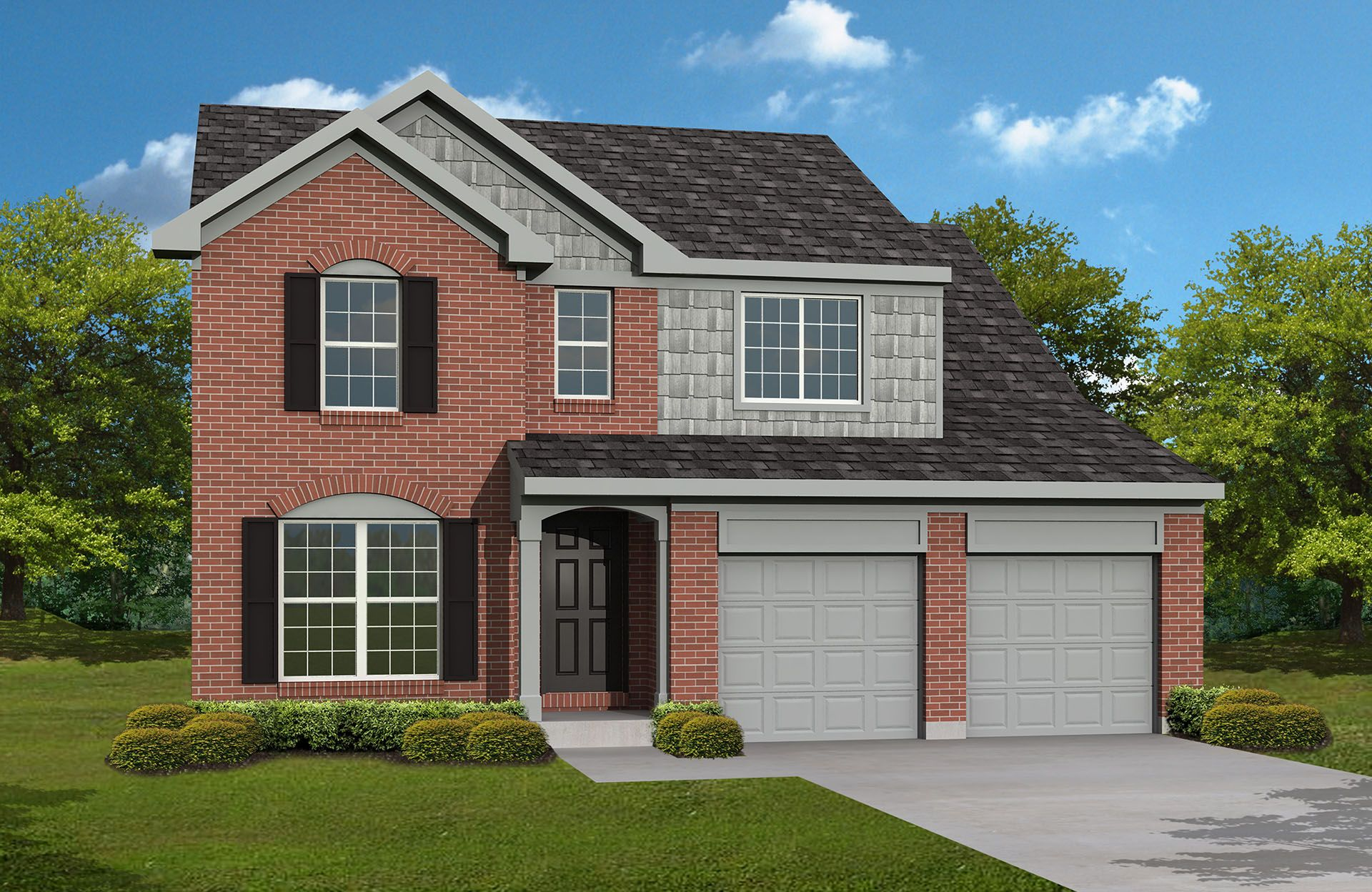 Saxon - Harrison Woods: Loveland, OH - Drees Homes