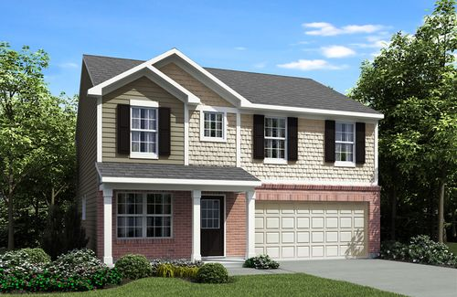 house for sale in Woodsview of Williamsburg by Drees Homes
