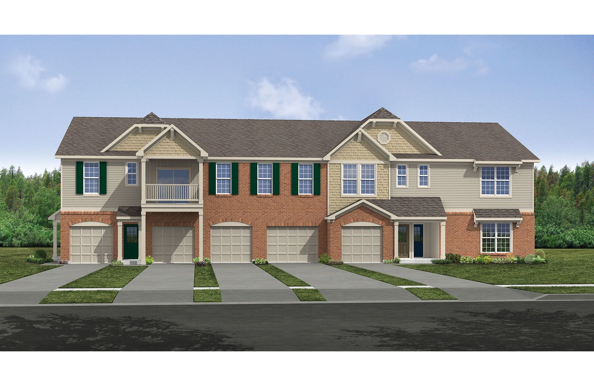 Bentree III - Crosspointe Condos & Townes: Batavia, OH - Drees Homes