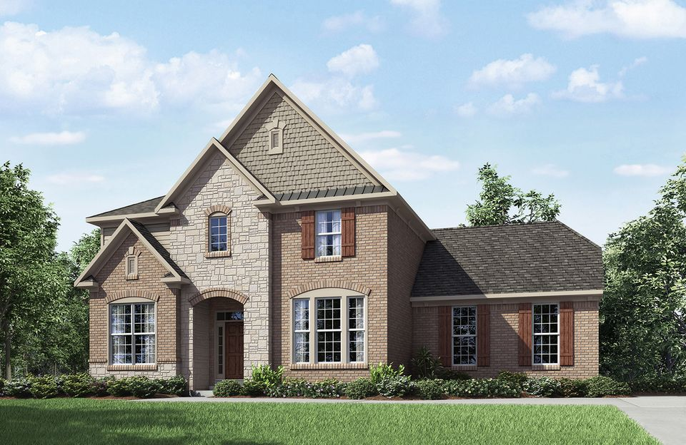 Pembroke - The Commons at Woodcreek Farms: Brownsburg, IN - Drees Homes