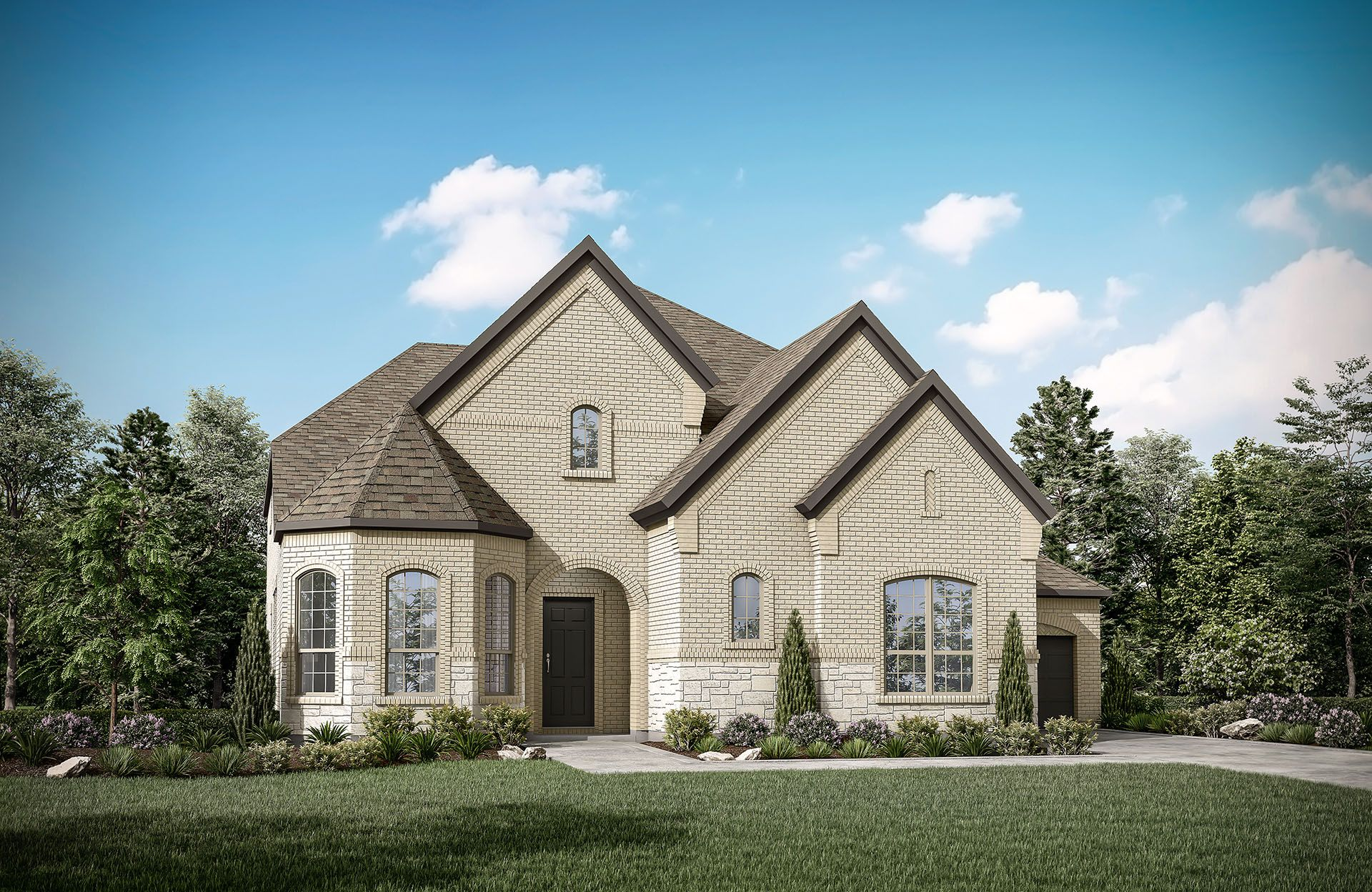 Sacramento III - Phillips Creek Ranch: Frisco, TX - Drees Custom Homes