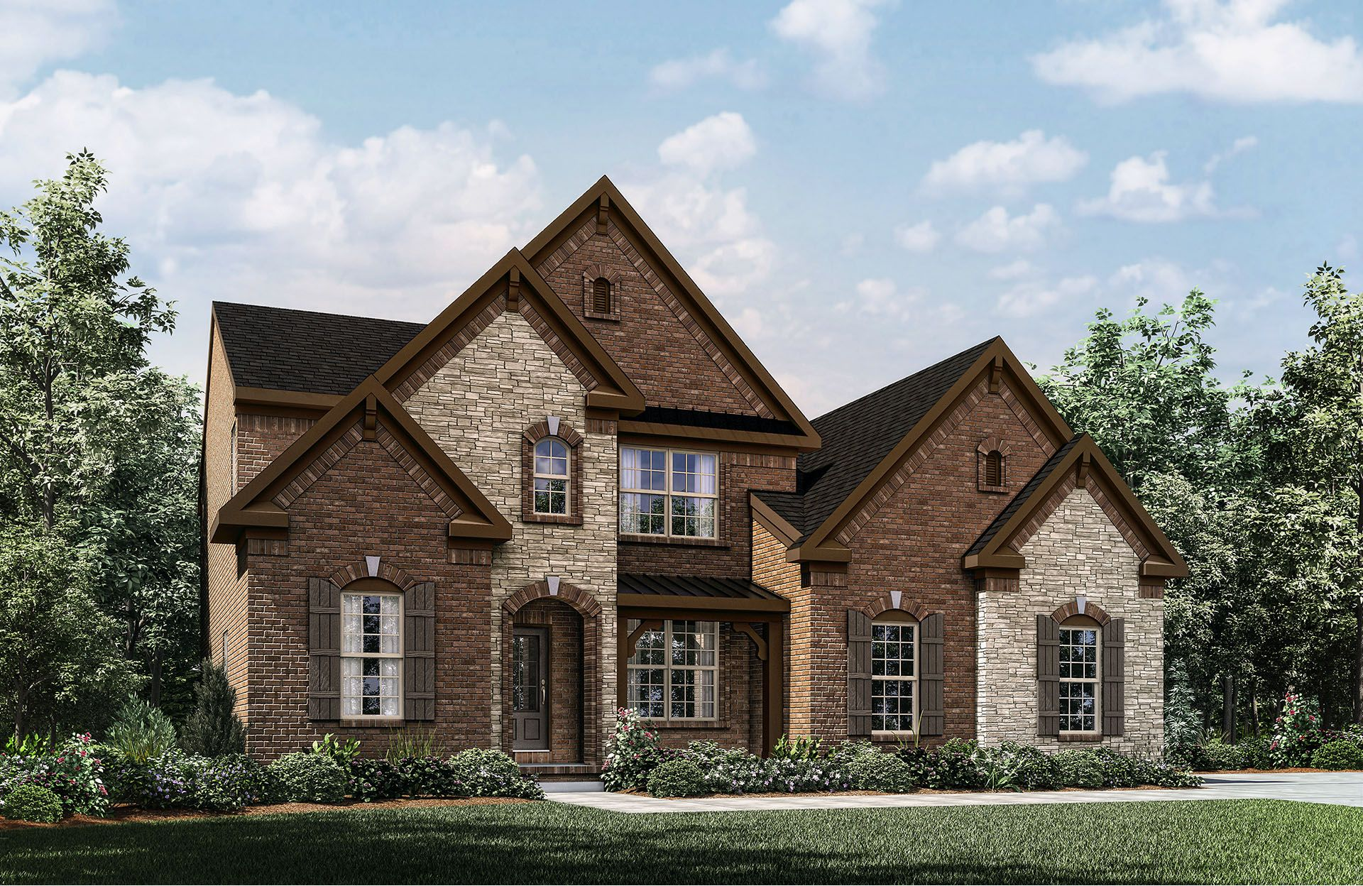 Bradford - Winterset Woods: Nolensville, TN - Drees Homes
