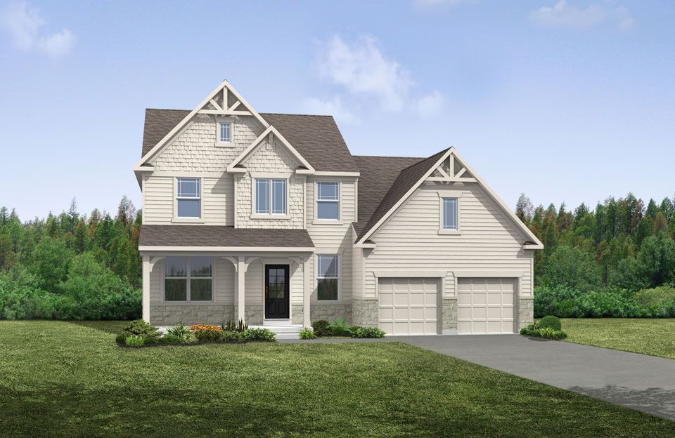 McClaren - Belmont Place: Fishers, IN - Drees Homes