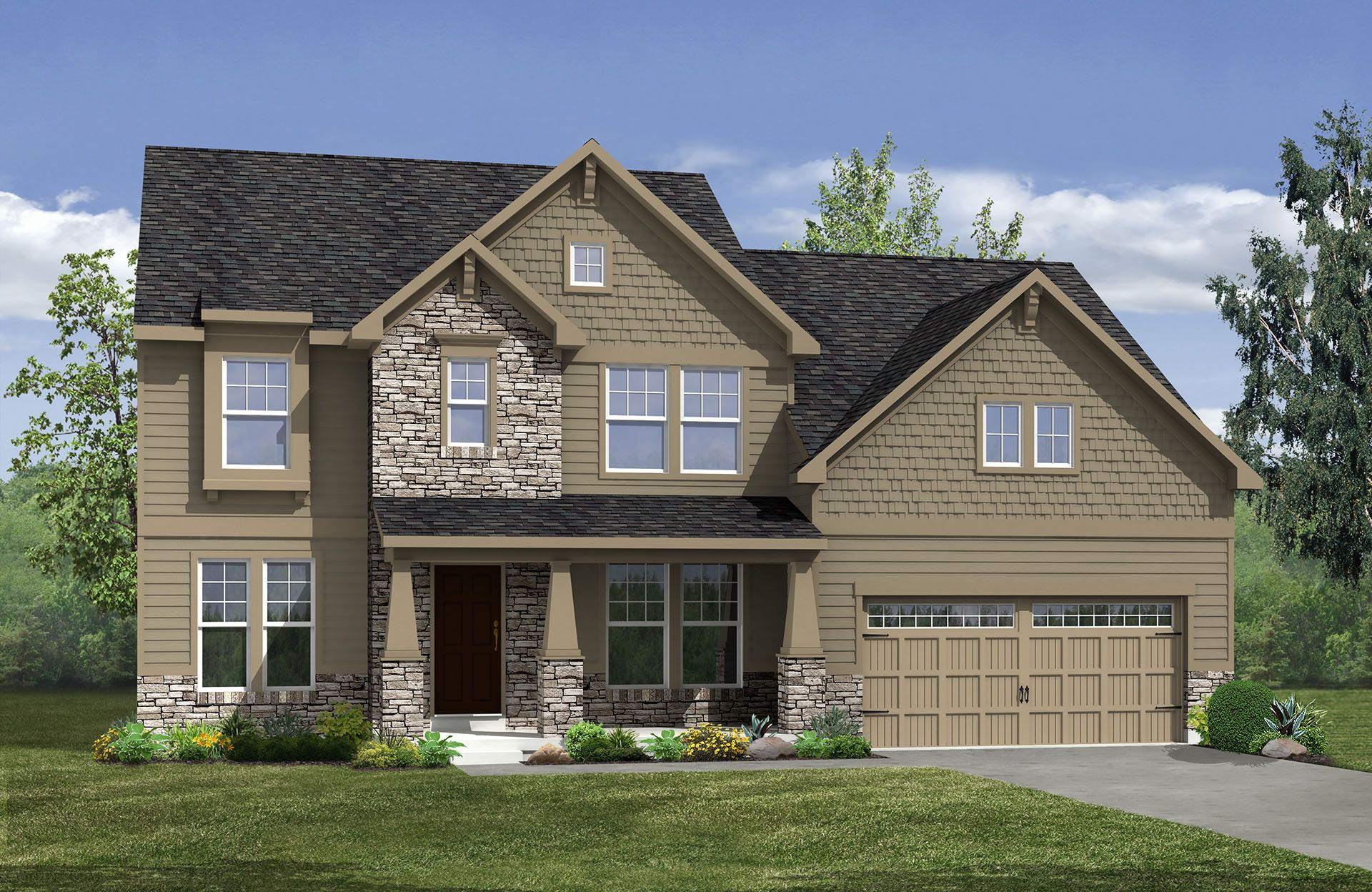Patterson - Steffan Woods: Twinsburg, OH - Drees Homes
