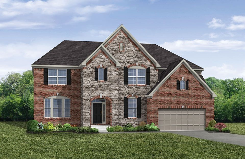 Britton - Red Stone Village: Union, KY - Drees Homes