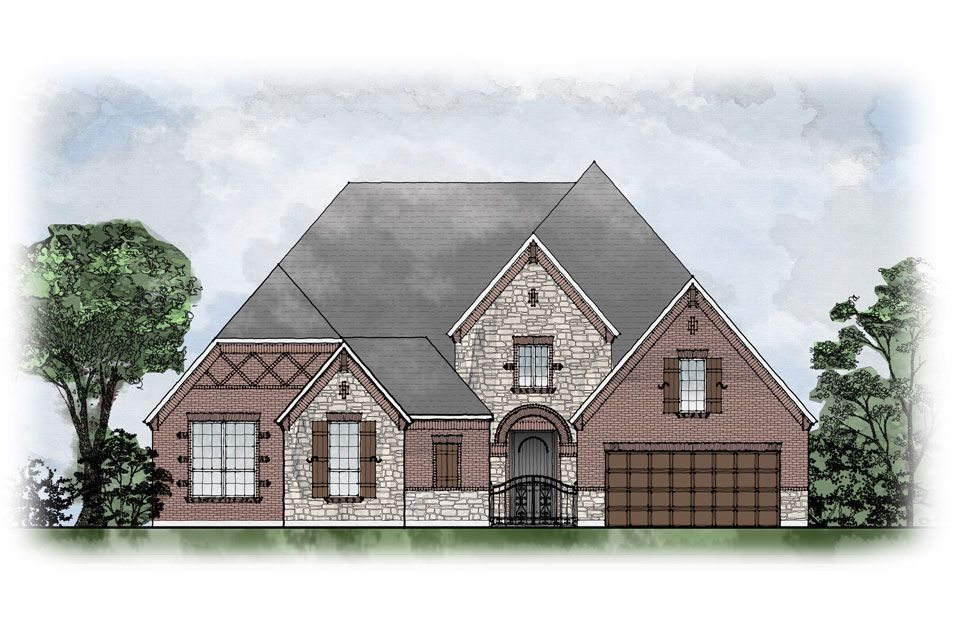 Santiago - Willow Ridge: Prosper, TX - Drees Custom Homes
