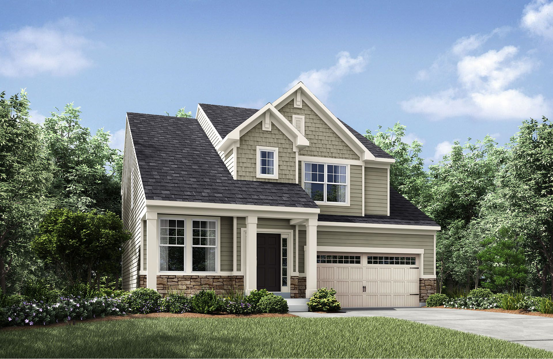 Crosby - Baker's Creek at Echo Lake: Strongsville, OH - Drees Homes
