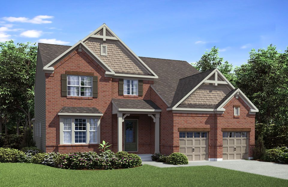 Rowan - Red Stone Village: Union, KY - Drees Homes