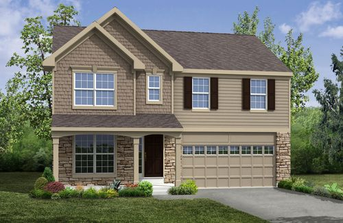 house for sale in Lakes at Franklin Mills by Drees Homes